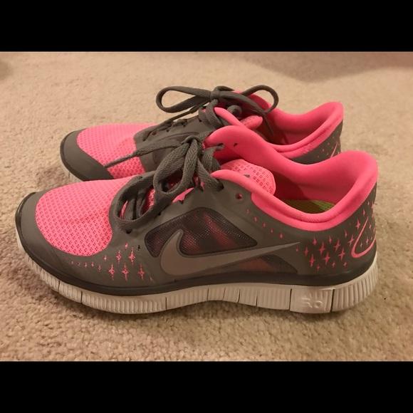 new concept cf619 bd1f2 Nike Free Run 3 5.0 Pink   Gray Size 7.5. Nike. M 5adfe9696bf5a699eb6616e9.  M 5adfe96bfcdc315d9ecb7a9f. M 5adfe96cdaa8f6feb97be53b